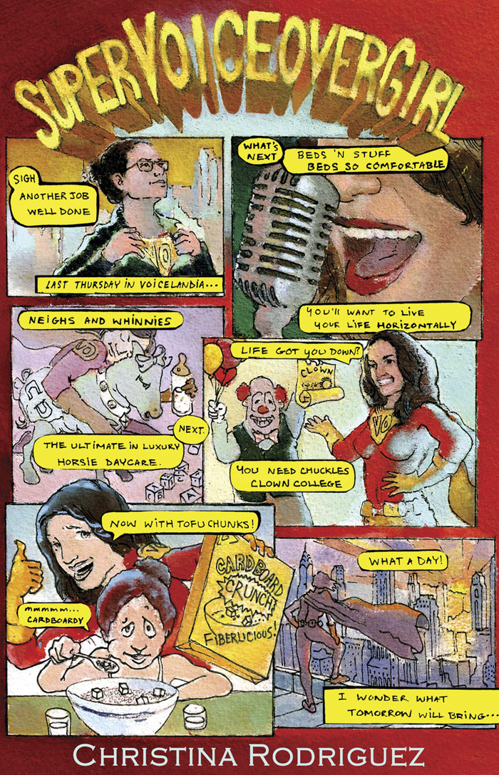 Super Voiceover Girl Comic